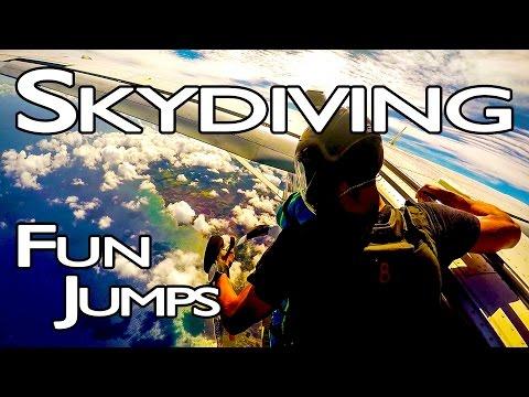 2015 Skydiving Fun Jumps [GoPro]
