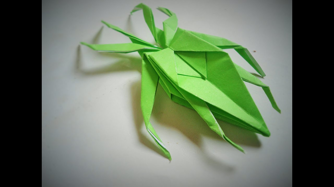 Origami Moth Easy Tutorial