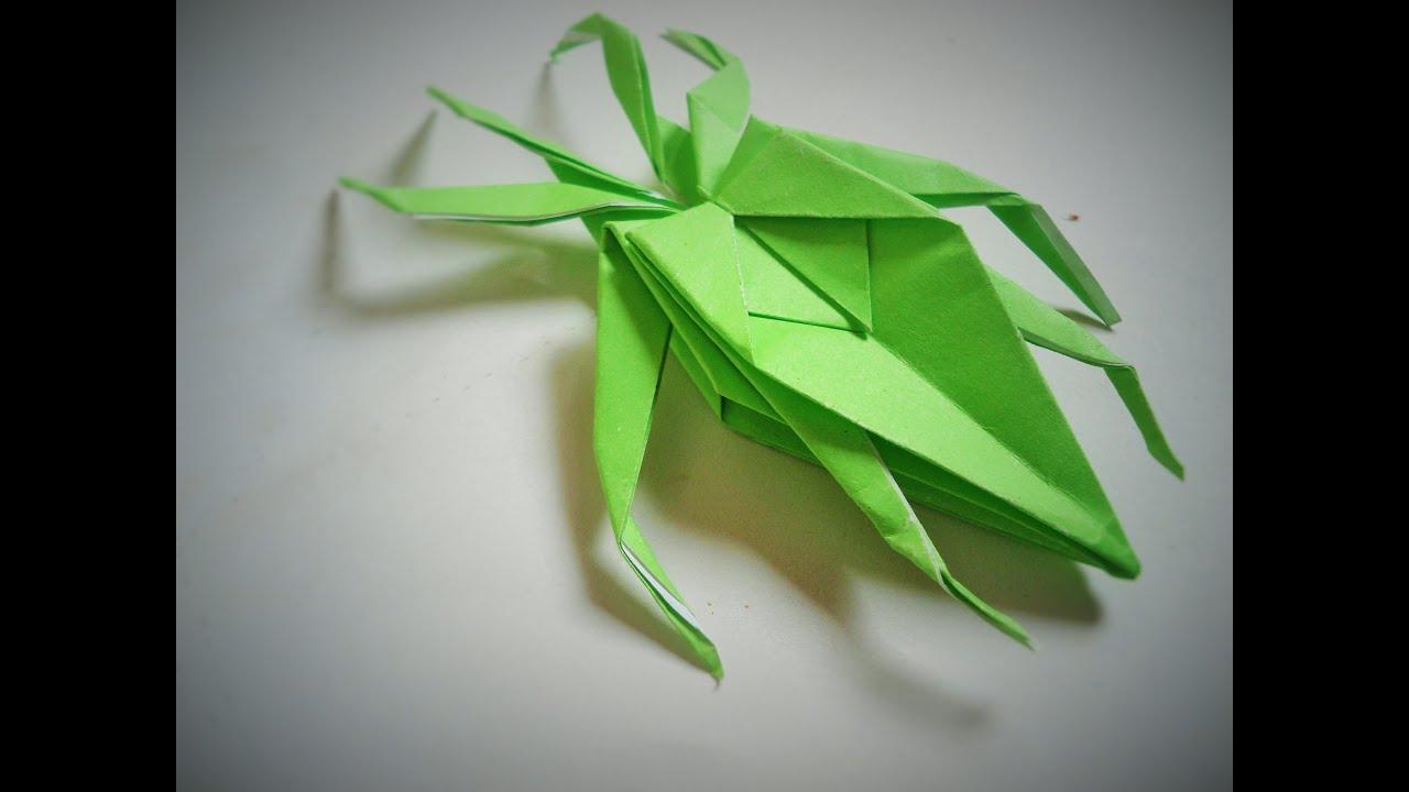 Origami Moth Easy Tutorial