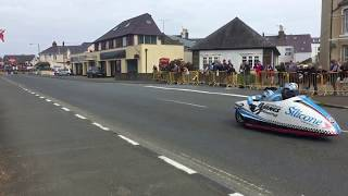 2018 Locate.im Sidecar TT Race 2 | Bus Station, Ramsey | Live Footage