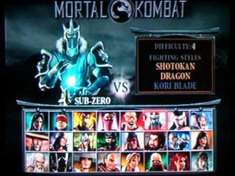 Mortal Kombat Deception PS2 review