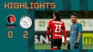 Highlights Helmond Sport - Jong Ajax   Keuken Kampioen Divisie