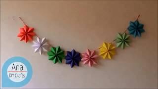 طريقة صنع شرائط جميلة لتزين الحائط