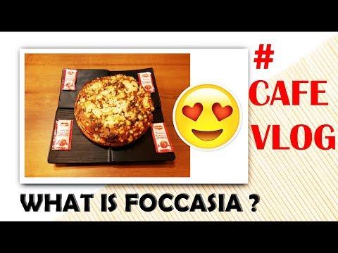 WHAT IS FOCACCIA | CAFE VLOG | VADODARA ON VLOGS | VOV