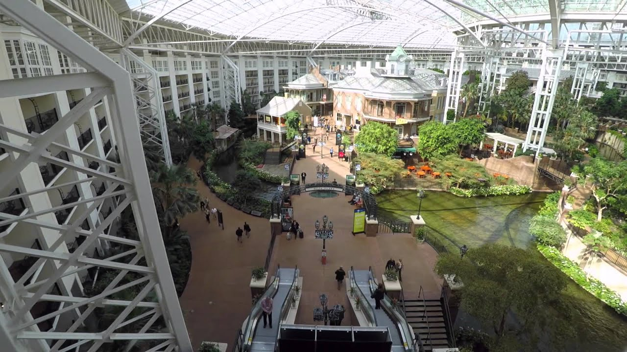 Time Lapse Of Delta Island Gaylord Opryland Resort