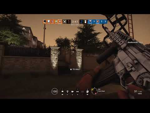 Seige 3 kills and killing my self with...