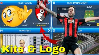 How to create A.F.C Bournemouth Team kits and logo 2019 | Dream Legaue Soccer 2019