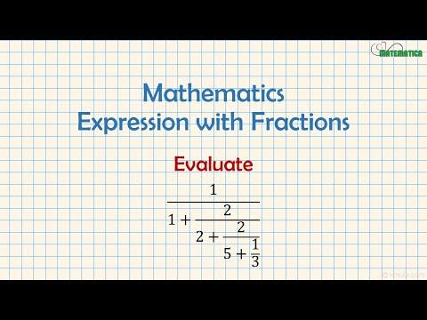 Espressione algebrica con le frazioni from YouTube · Duration:  6 minutes 4 seconds