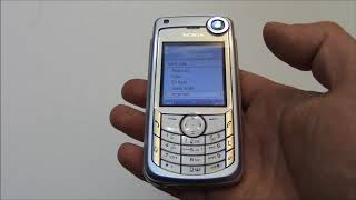 The Vintage Nokia 6680 Cell phone Review