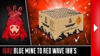 Geisha 1602 Blue mine to Red wave - Geisha - Vuurwerkmania