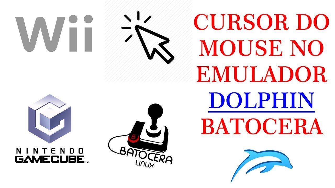 BATOCERA - CURSOR MOUSE - EMULADOR DOLPHIN WII/CUBE