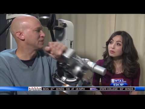 Virtual reality stroke therapy