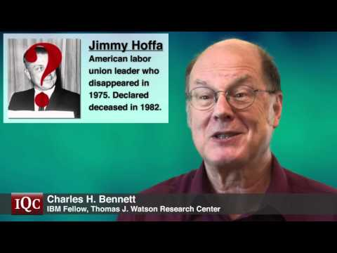 Does Information Disappear? - Charles Bennett