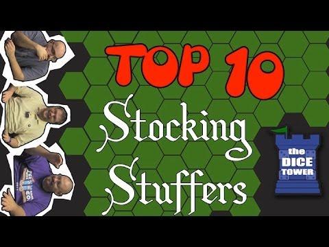 Top 10 Stocking Stuffer Games