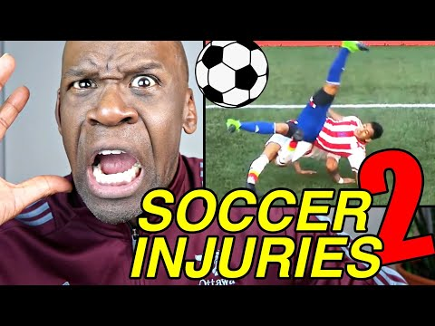 Real Doctor Reacts To SOCCER INJURIES (FUTBOL) Part 2