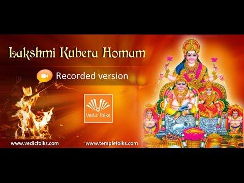 Lakshmi Kubera Homam