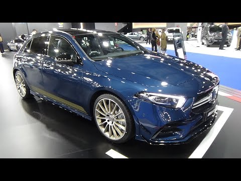 2019 Mercedes-AMG A 35 4M+ Compact - Exterior and Interior - Automobile Barcelona 2019