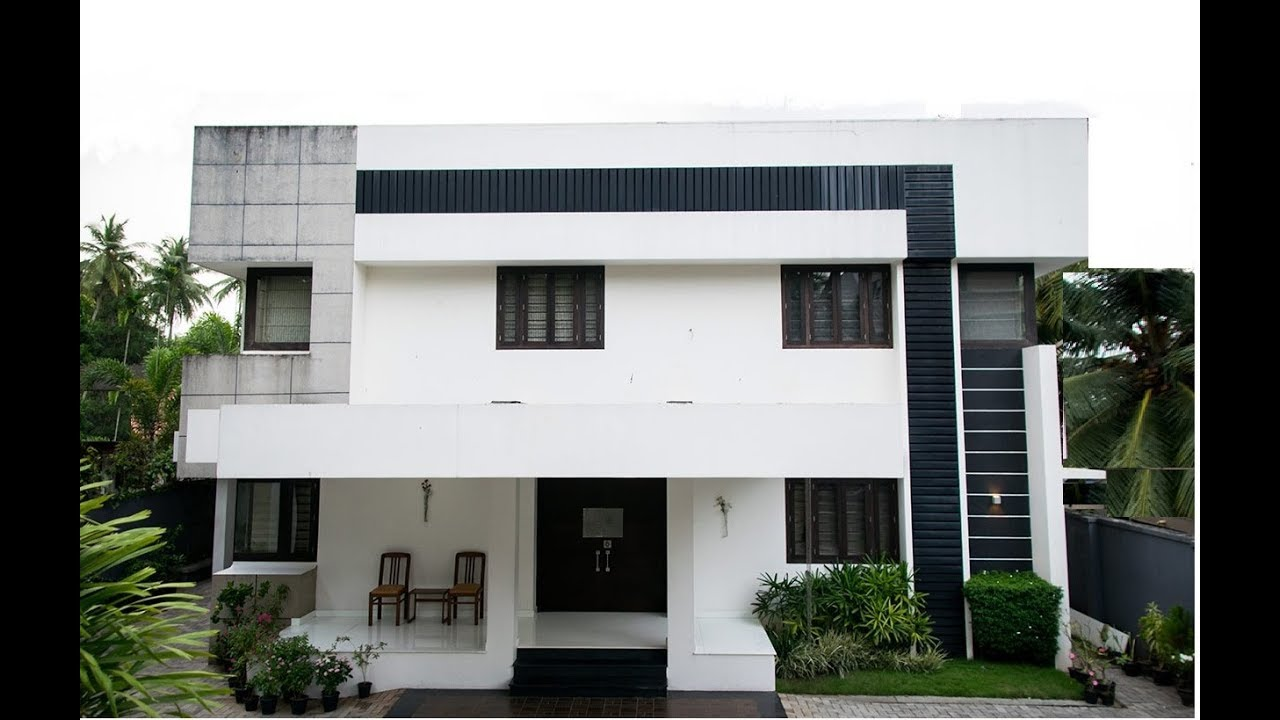 Modern Simple Double Floor House 1500 sft for 15 lakh ...