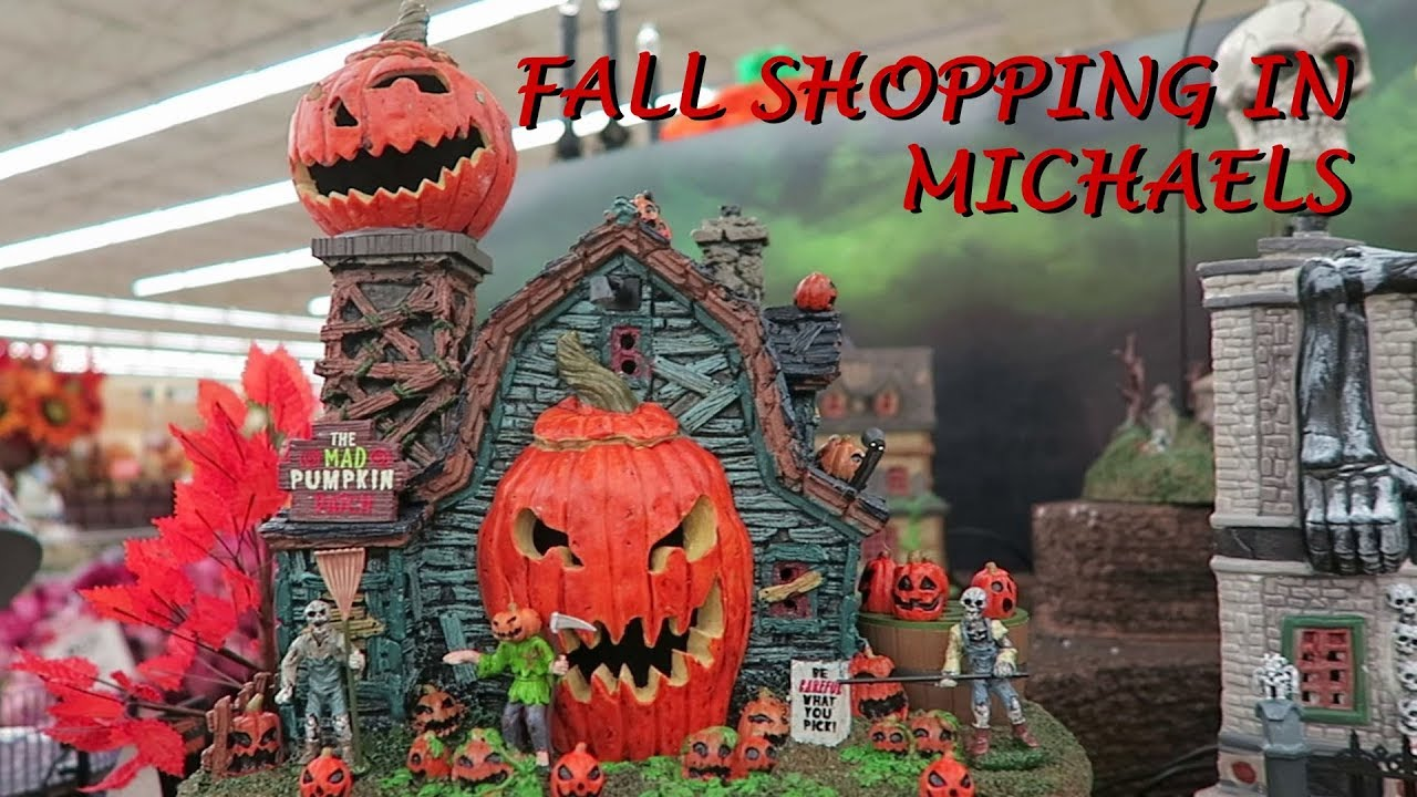 michaels fall and halloween dcor 2017 - Michaels Halloween Decorations