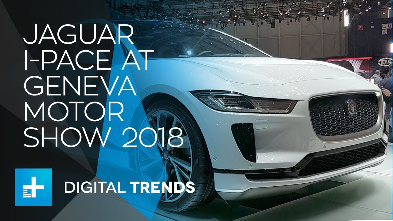 Jaguar I-Pace – First Look at Geneva Motor Show 2018