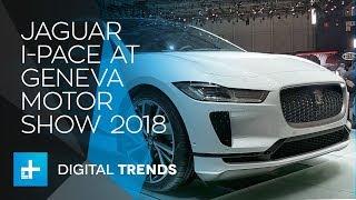 Jaguar I-Pace - First Look at Geneva Motor Show 2018