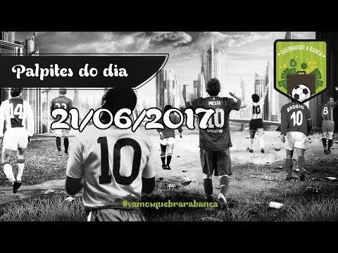 QUEBRANDO A BANCA: Dicas dia 21/06/2017