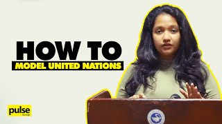 Model United Nations Tutorial