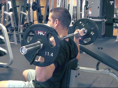 "Behind the Neck Press: The ""FORGOTTEN"" Barbell Shoulder Exercise"