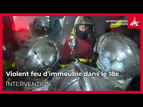 Comment Les Pompiers De Paris Ont-ils Maîtrisé L'incendie Rue André Antoine (18e Arrondissement) ?