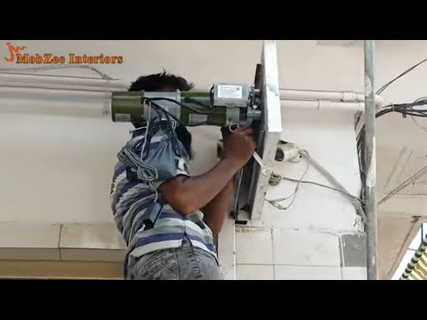 How to Install Rolling Shutter Automatic I How to Fix Automatic Shutter - Sadiqabad - Pakistan