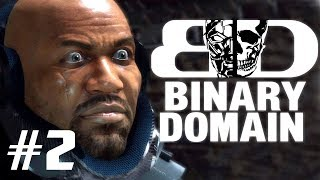 Two Best Friends Play Binary Domain (Part 02)