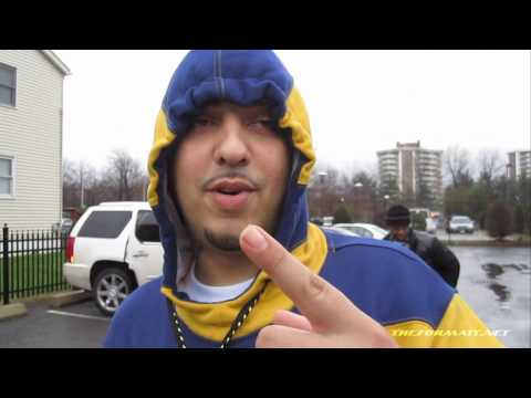 The Formatt Radio behind the Scenes young Cook French Montana