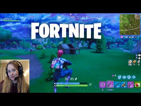 ASMR Whispered Fortnite Gameplay ♥