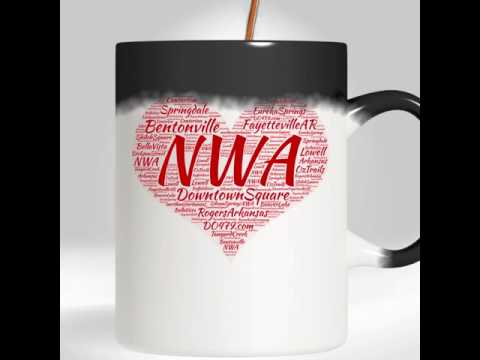 Northwest Arkansas Coffee Mug - Color Changing |Bentonville|Fayetteville AR|