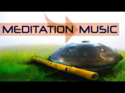 Relaxing Instrumental Hang Drum Music with Flute ● Ascension ● for Meditation, Yoga, Stress Relief