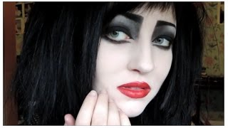 ✠ Siouxsie Sioux Makeup Tutorial ✠