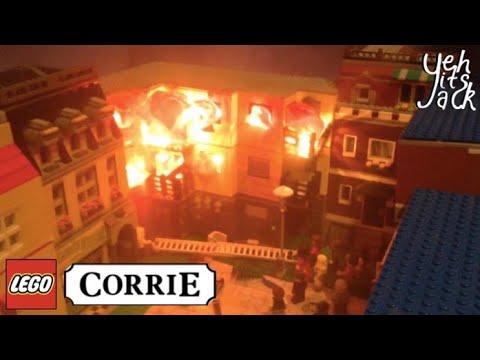 Lego Coronation Street- Victoria Court Fire | yehitsjack