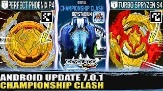 NOVO UPDATE + QR CODES TURBO SPRYZEN S4 PERFECT PHOENIX P4 BEYBLADE BURST TURBO APP 7.0.1