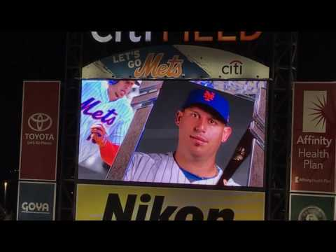 New York Mets Walk Up Songs and Jumbotron Animations as of August 2017