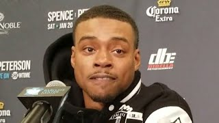 ERROL SPENCE REACTS TO MIKEY GARCIA CALLING HIM OUT