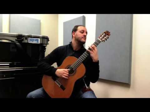Morel: Danza in E Minor (Tariq Harb, guitar)