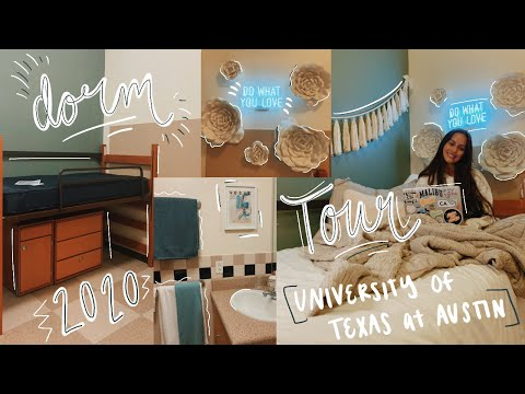 COLLEGE DORM TOUR 2020 | University of Texas at Austin