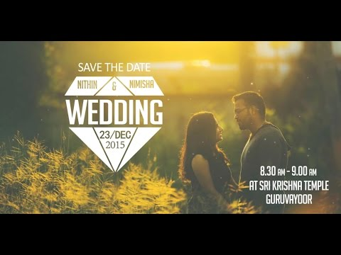Nithin + Nimisha /Save The Date