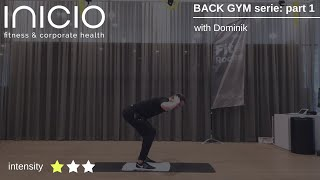BACK GYM serie with Dominik