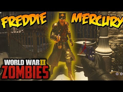UNLOCKING FREDDIE MERCURY IN ZOMBIES!!!