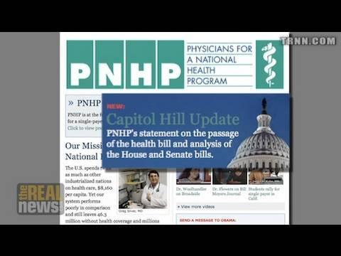 "Progressives debate health care ""victory"""