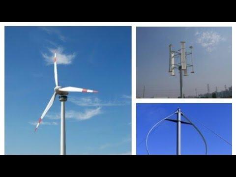 Different Types of Wind Turbine