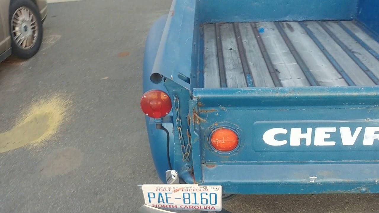 52 Chevy truck LS3 swap part 1 - YouTube