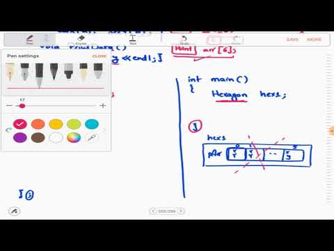 4 - 5   OOP   Composition as Array of Objects   C++ Classes (Arabic بالعربي)