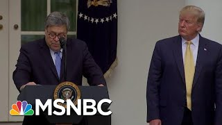 Trump Reportedly Wanted Barr To Hold Presser Clearing Him On Ukraine | The Last Word | MSNBC